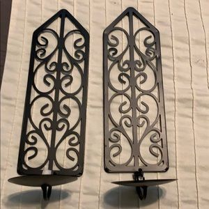 Other - Wall candle holders